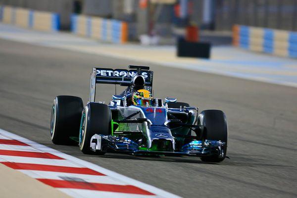 F1 Bahrain Wintertesting 2014