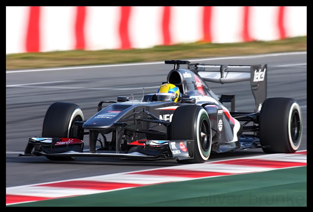 F1 Testing Barcelona 2013