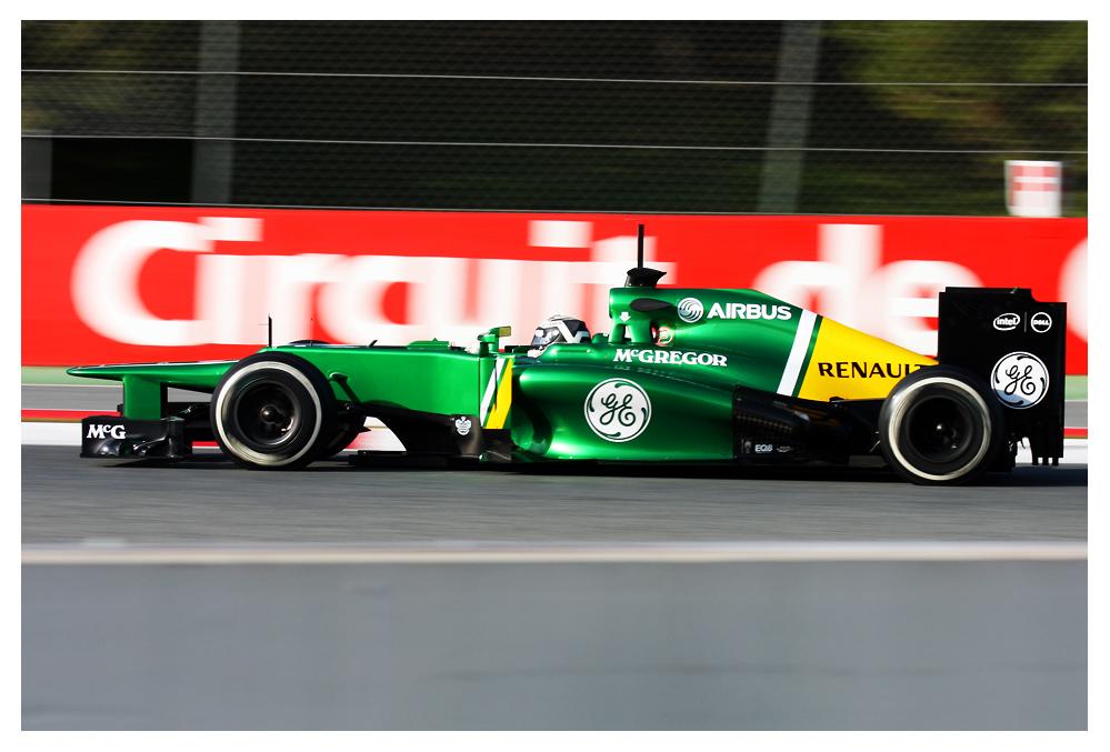 F1 Testing Barcelona 2013, Caterham