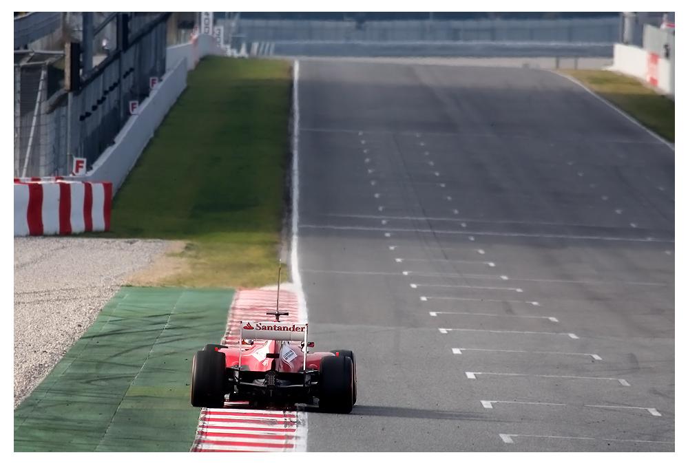F1 Testing Barcelona 2013, Felipe Massa