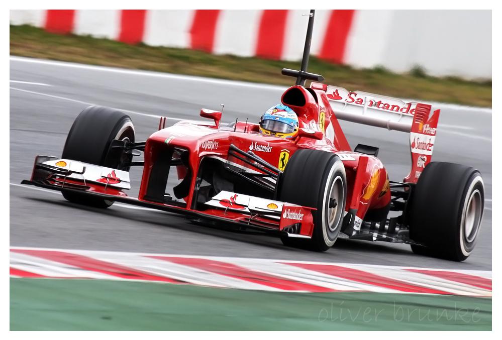 F1 Testing Barcelona 2013, Fernando Alonso