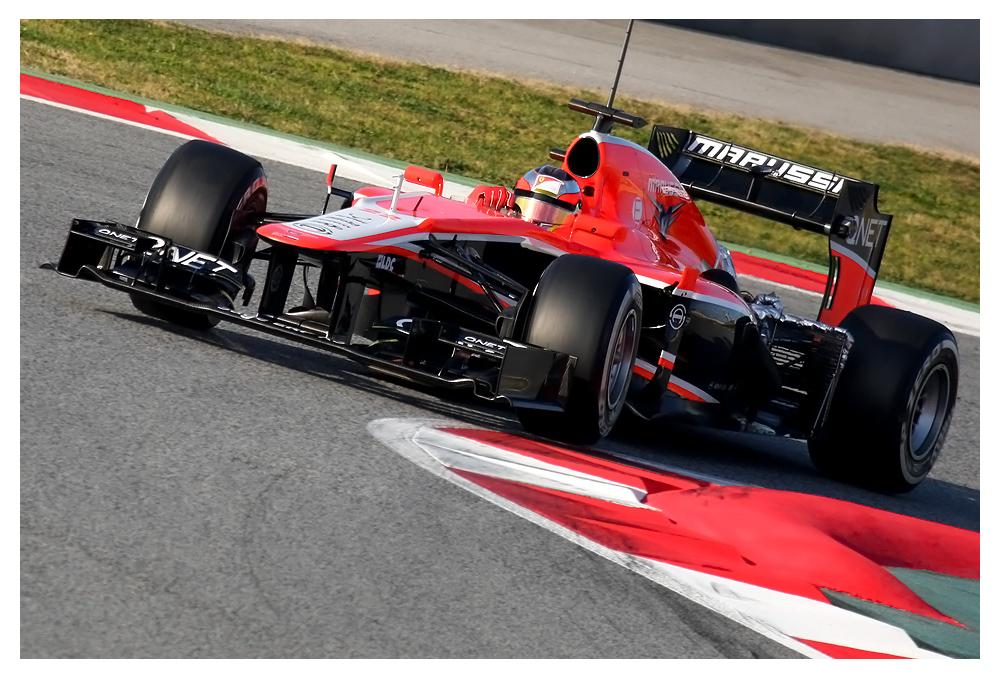 F1 Testing Barcelona 2013, Jules Bianchi
