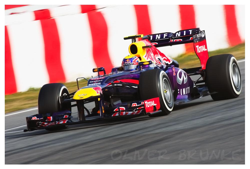 F1 Testing Barcelona 2013, Mark Webber