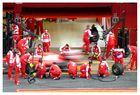 F1 Testing Barcelona, Pitstop