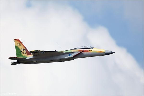 """F15 Israel von Herbert Janning aus Oldenburg """"Düsen-Opa"""" II"""