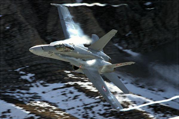 ~ F/A 18 Hornet @ Axalp 2011 ~