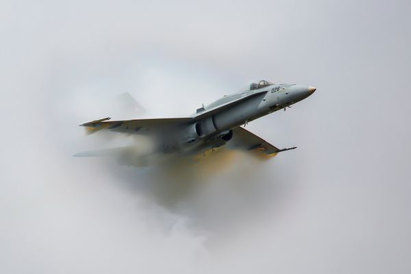 F/A-18 Hornet Solo Display