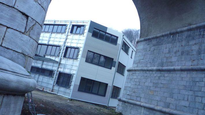 façade métallique