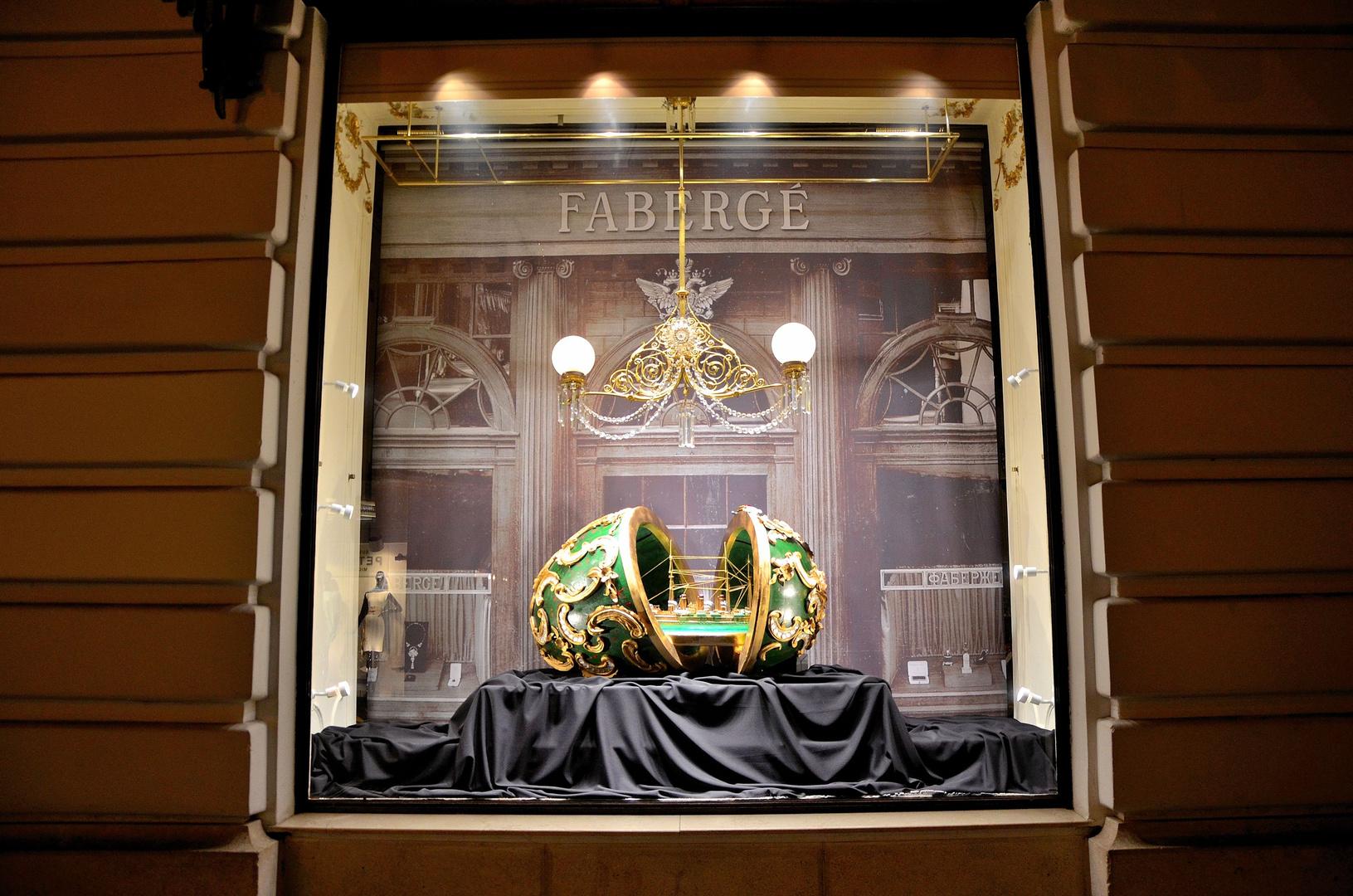 Faberge` bei Demel in Wien.