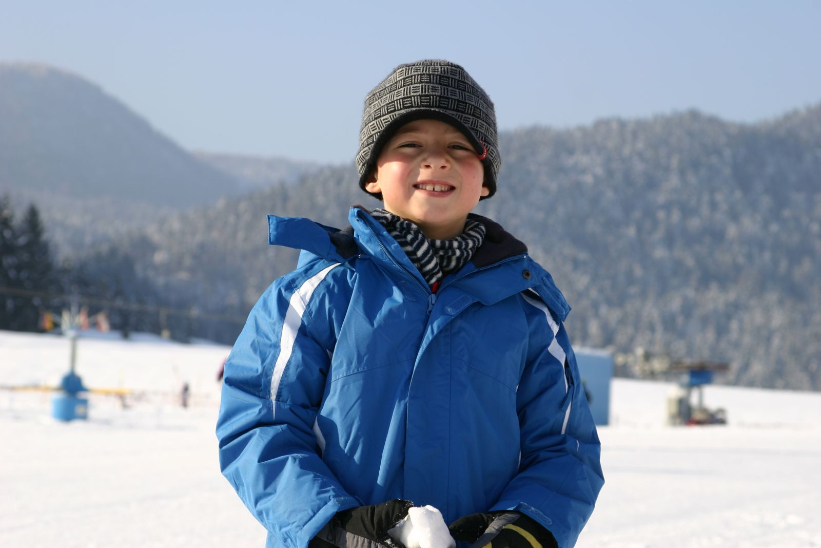 Fabian im Winter