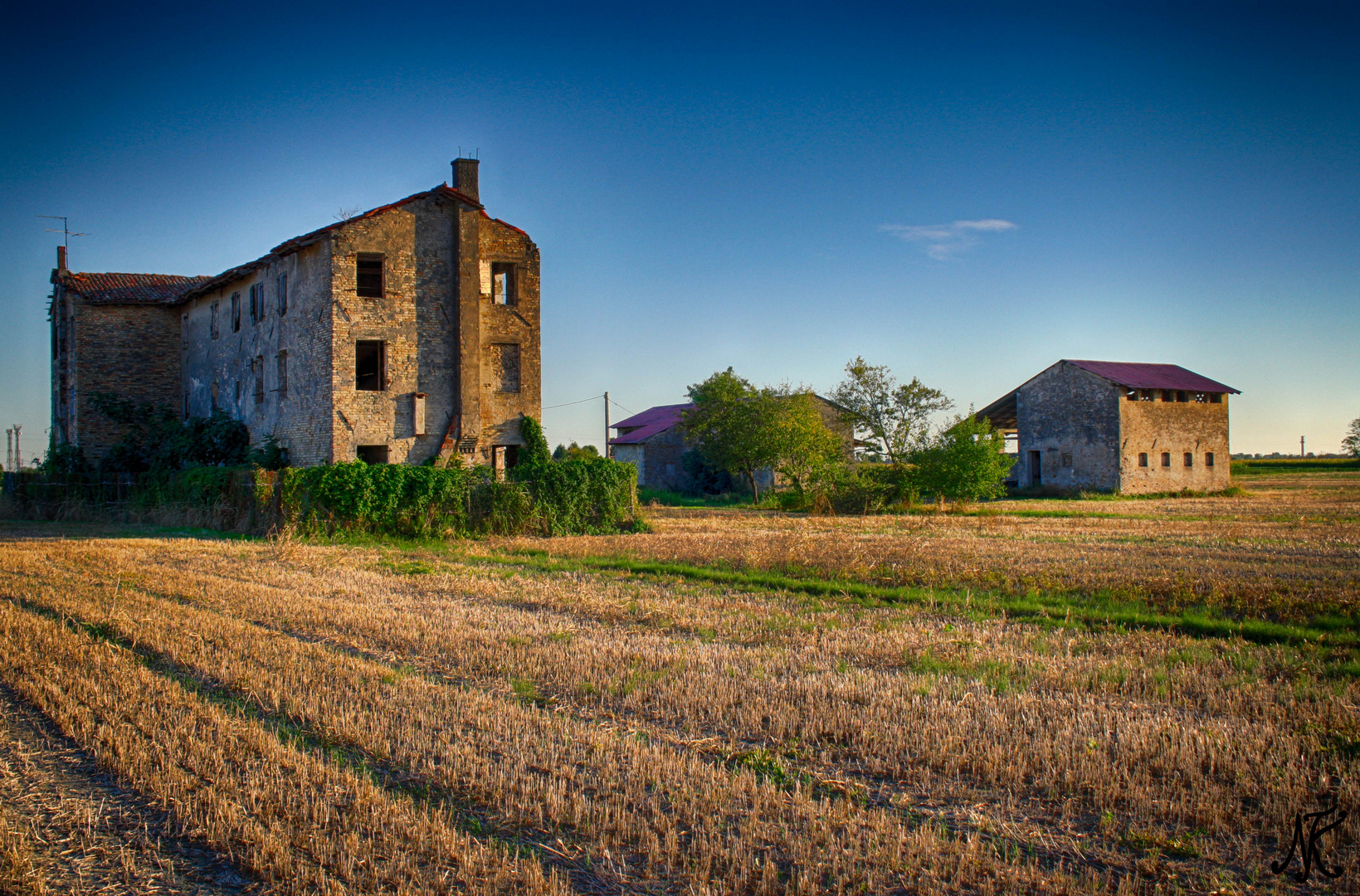 Fabrik Ruine