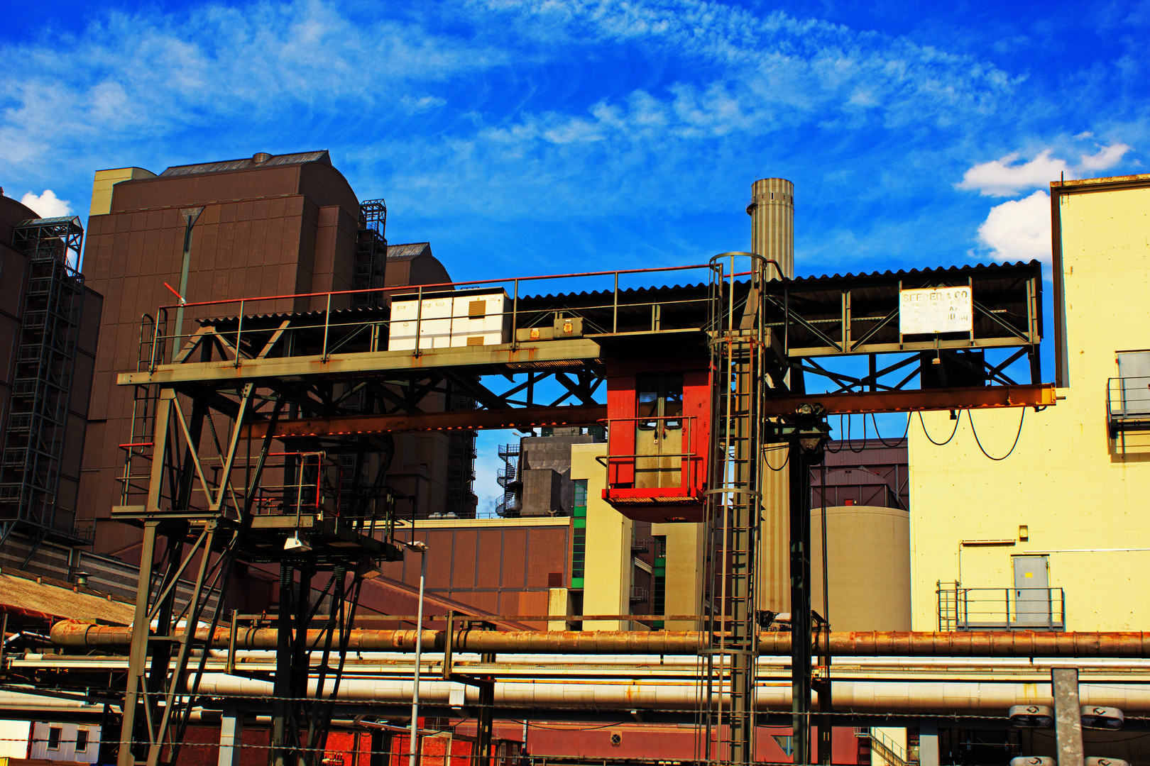 Fabrik Schnappschuss