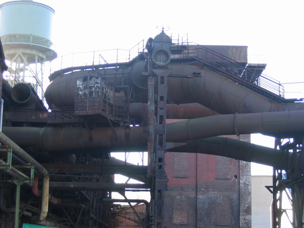 Fabrikgelände an der Jahrhunderthalle in Bochum