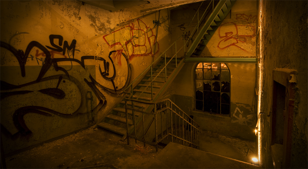 Fabrikserie - Treppe