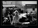 Faccio un giro con la moto