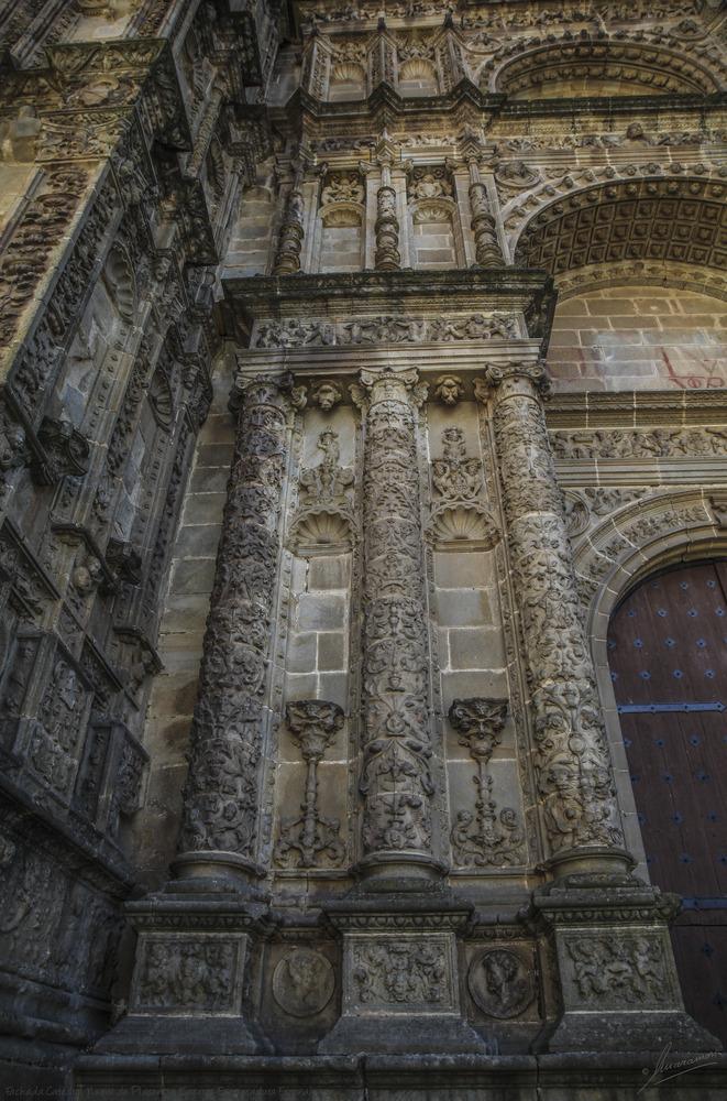 Fachada Catedral Nueva de Plasencia (Cáceres Extremadura España)
