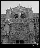 Fachada principal de la catedral - Detalles