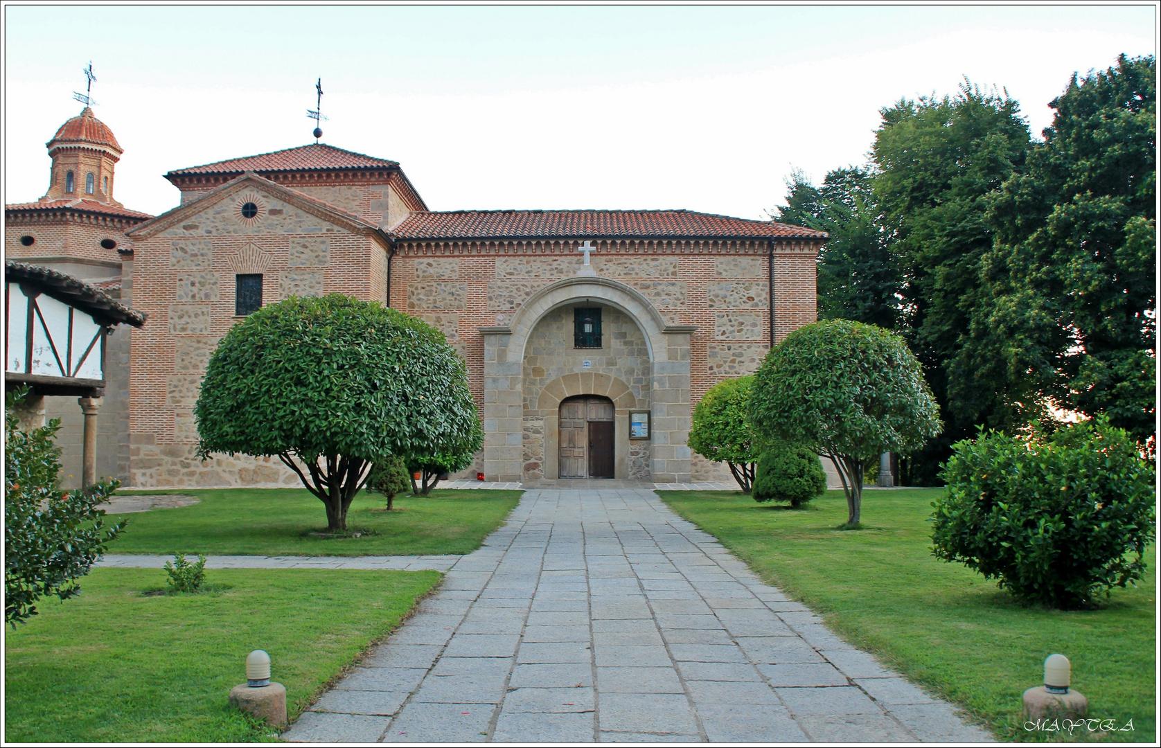 Fachada principal del Santuario de Ntra. Sra. de Chilla.