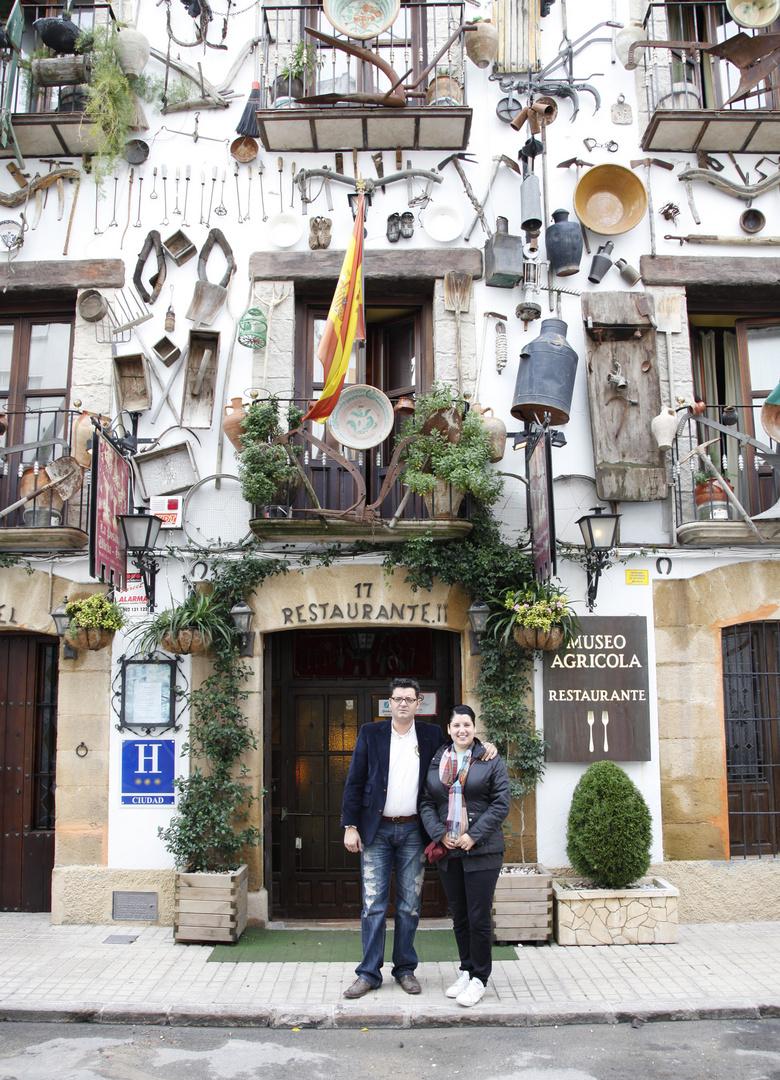 fachada principal hotel restaurante museo agricola de ubeda