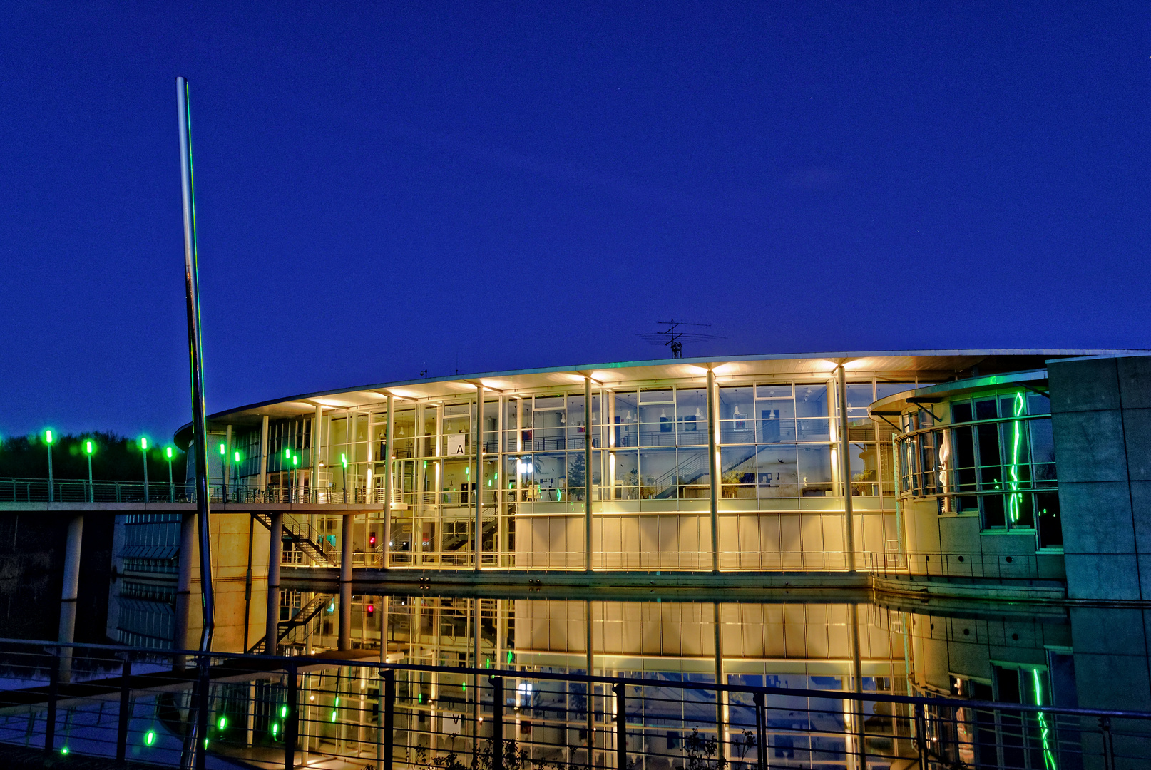 Fachhochschule bocholt foto bild nacht schule for Fachhochschule architektur
