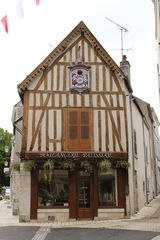 Fachwerk an der Loire