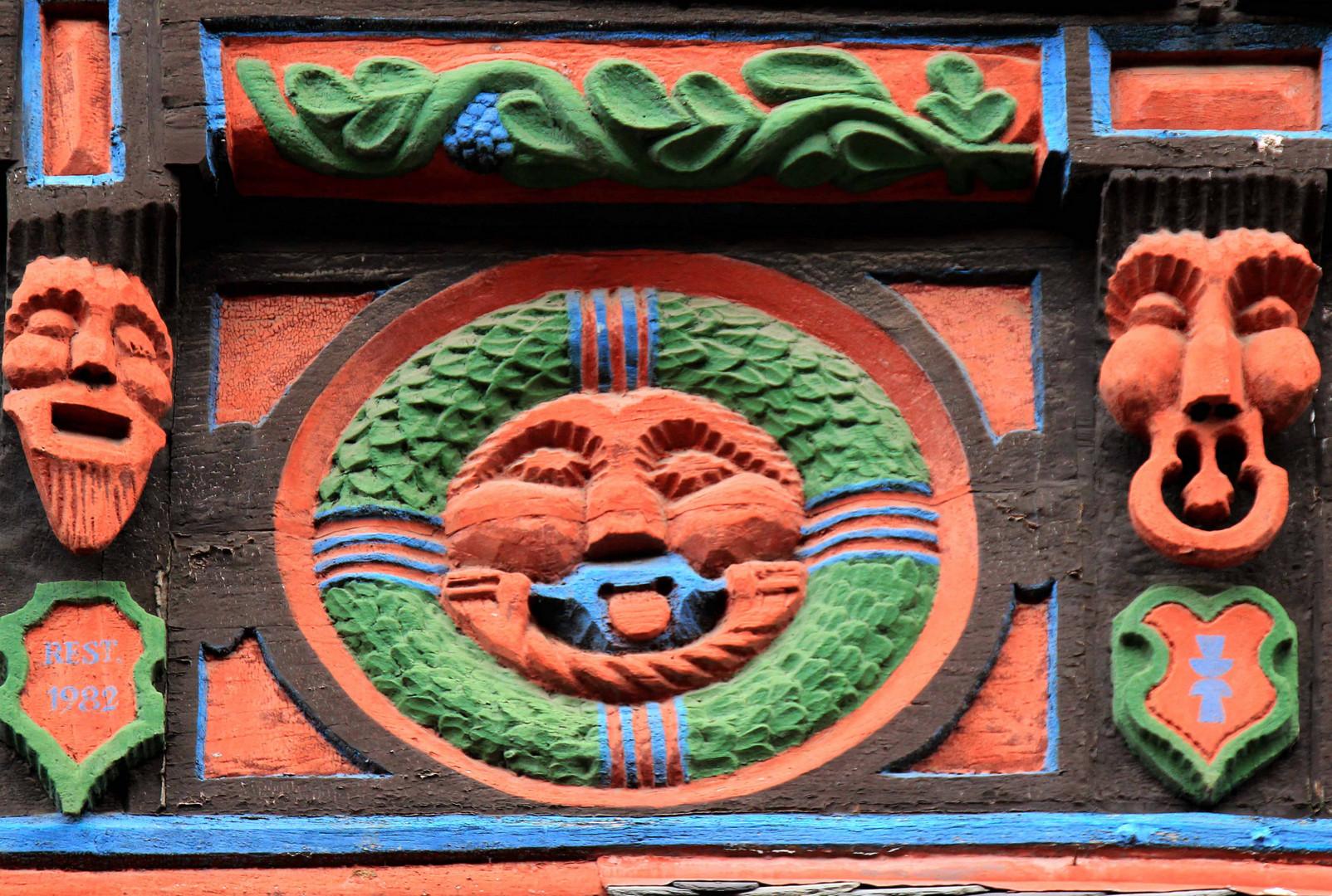 Fachwerk-Detail in Bad Münstereifel