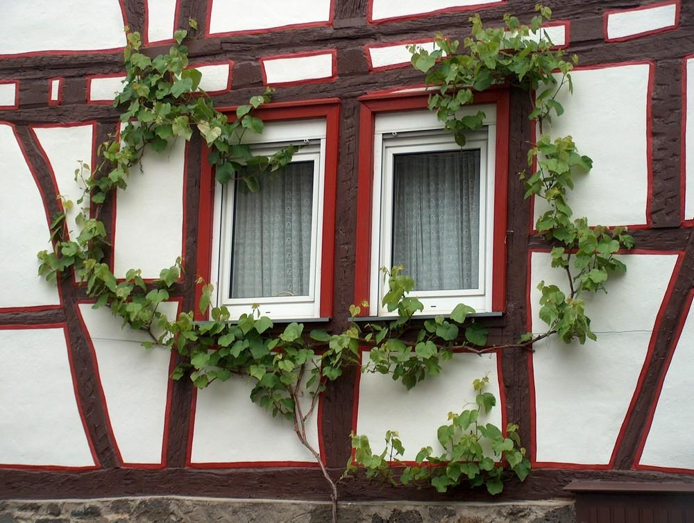 Fachwerk-Fenster