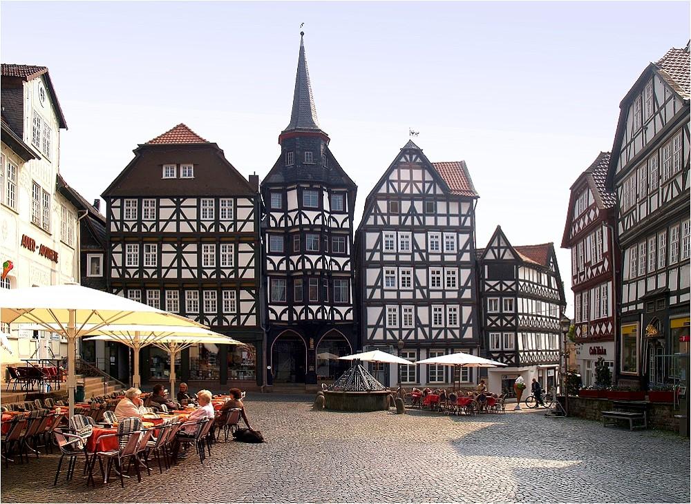 Fachwerk in Fritzlar