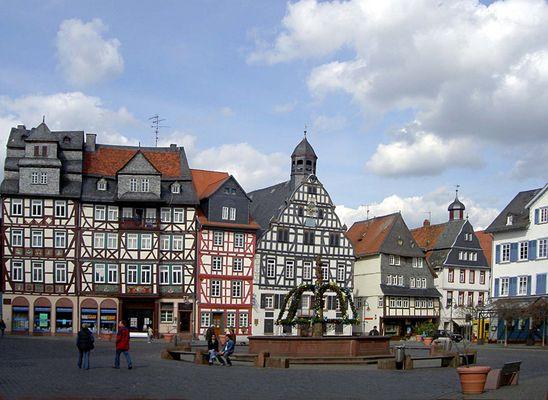 Fachwerk in Hessen - Butzbach
