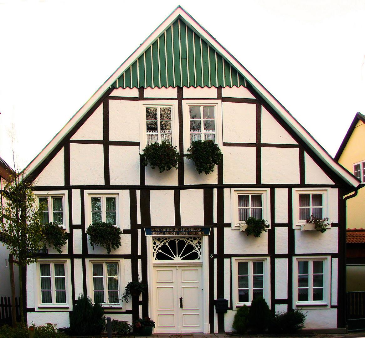 Fachwerk in Rietberg