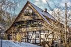 Fachwerk in Suhl-Neundorf/Thüringen/Germany