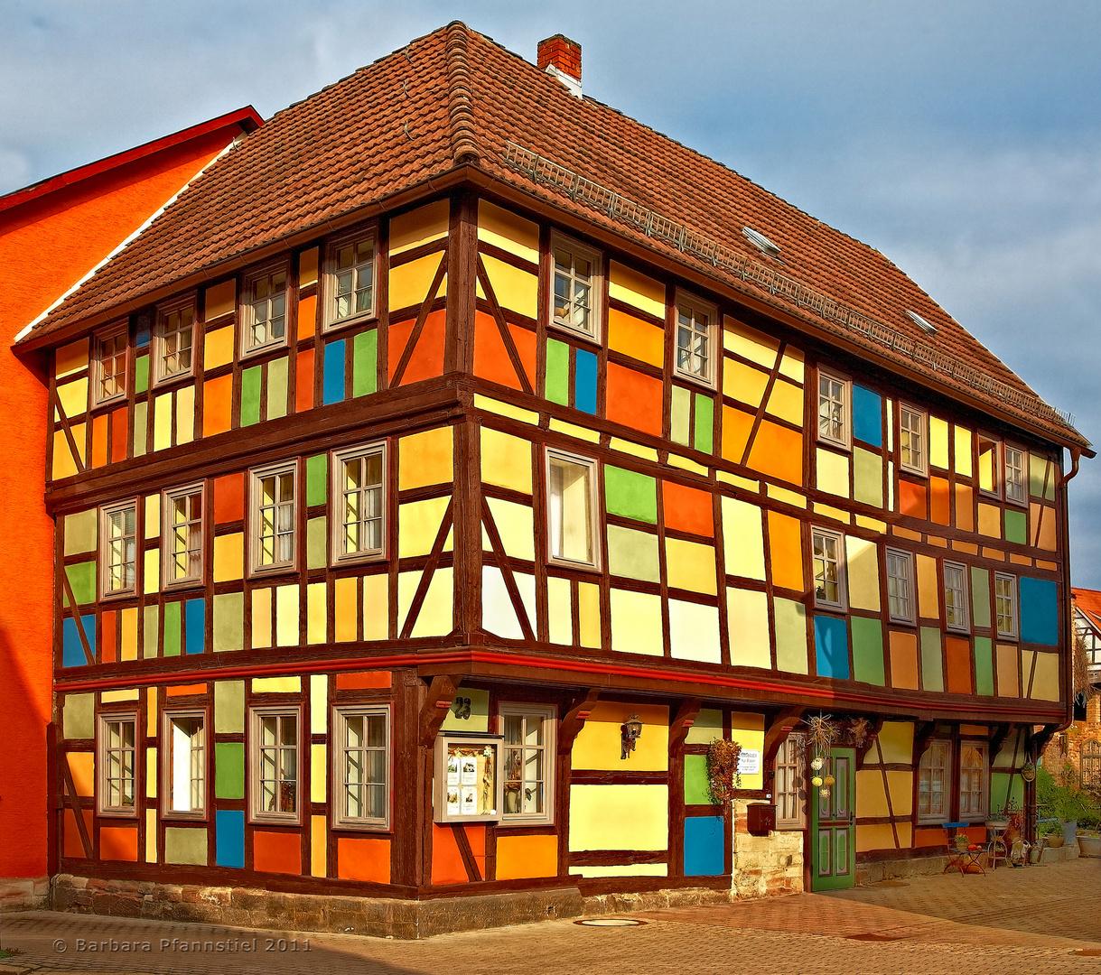 Fachwerk puzzle foto bild architektur profanbauten for Was ist fachwerk