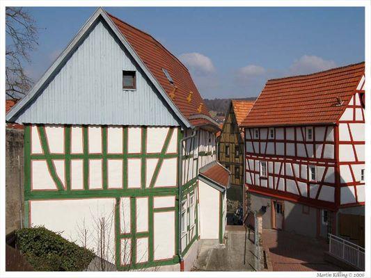Fachwerkhäuser in Bad Orb
