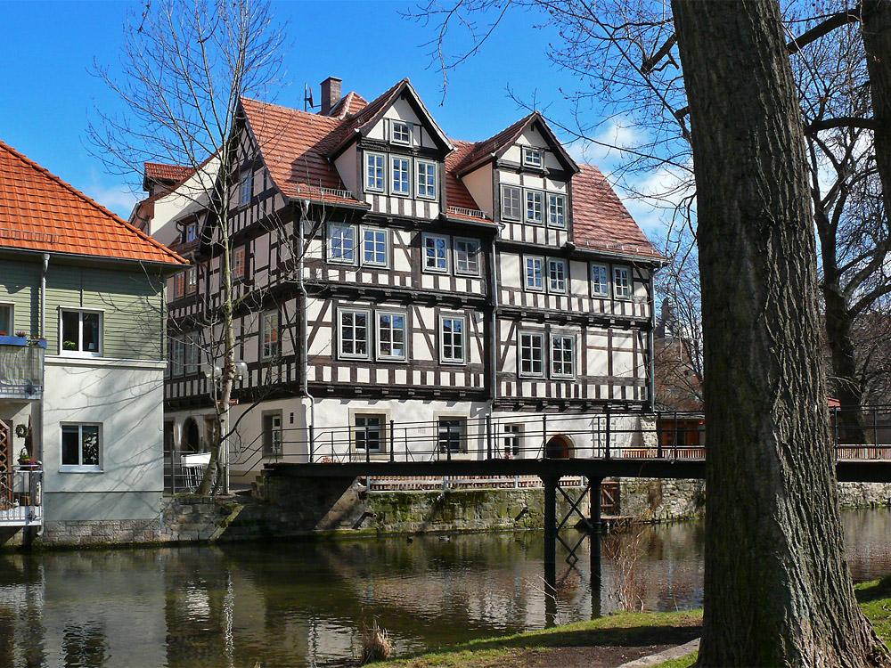 fachwerkhaus an der h ttergasse foto bild deutschland europe th ringen bilder auf. Black Bedroom Furniture Sets. Home Design Ideas
