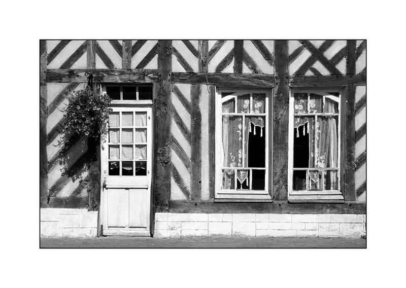 Fachwerkhaus in der Normandie