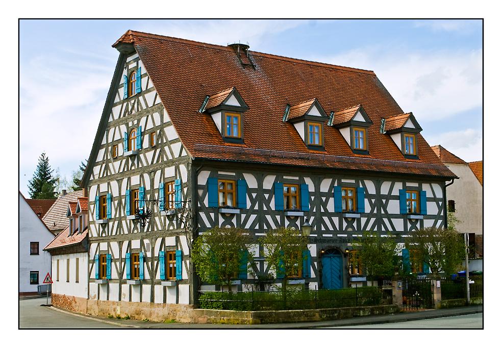 Fachwerkhaus in Frauenaurach