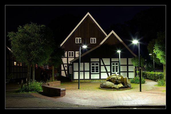Fachwerkhaus in Steinhagen @ night
