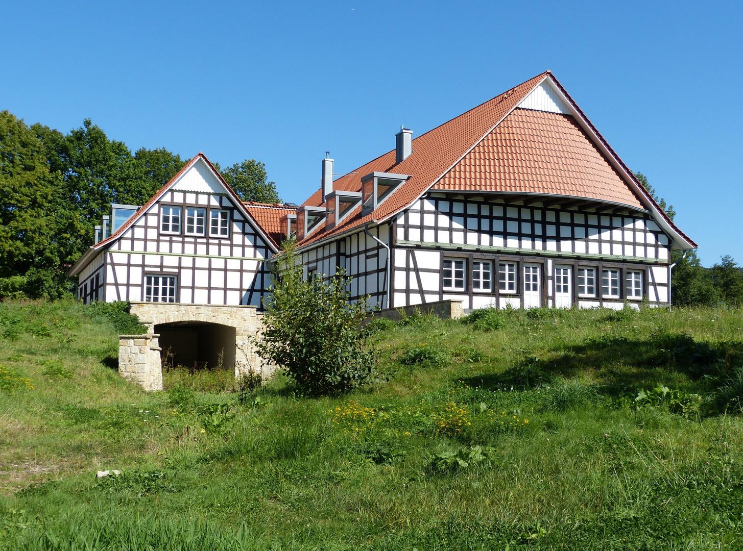 Fachwerkhof Neubau