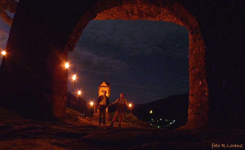 Fackelwanderung Rotes Tor Spitz/Wachau