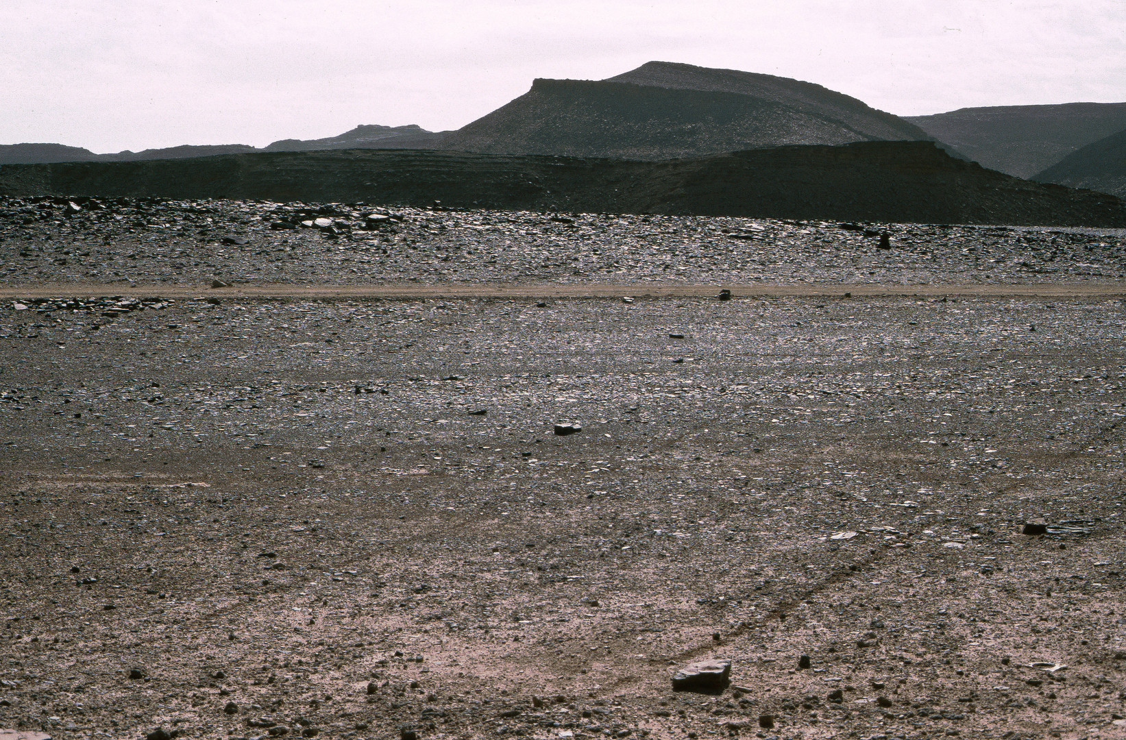 Fadnoun-Plateau, Algerien