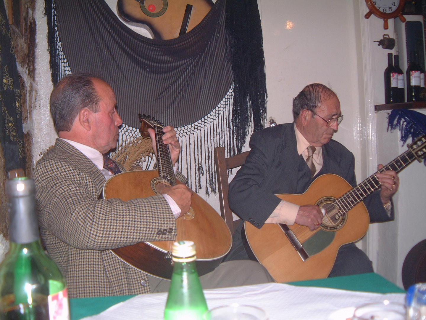 Fado in a small Restaurant in Porto