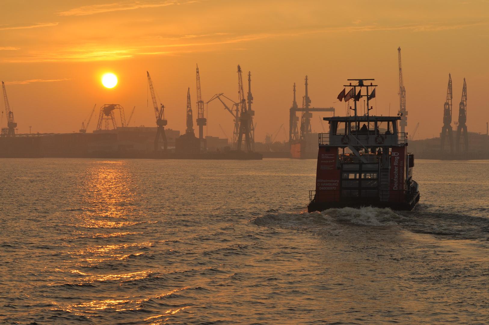 Fähre Hamburger Hafen