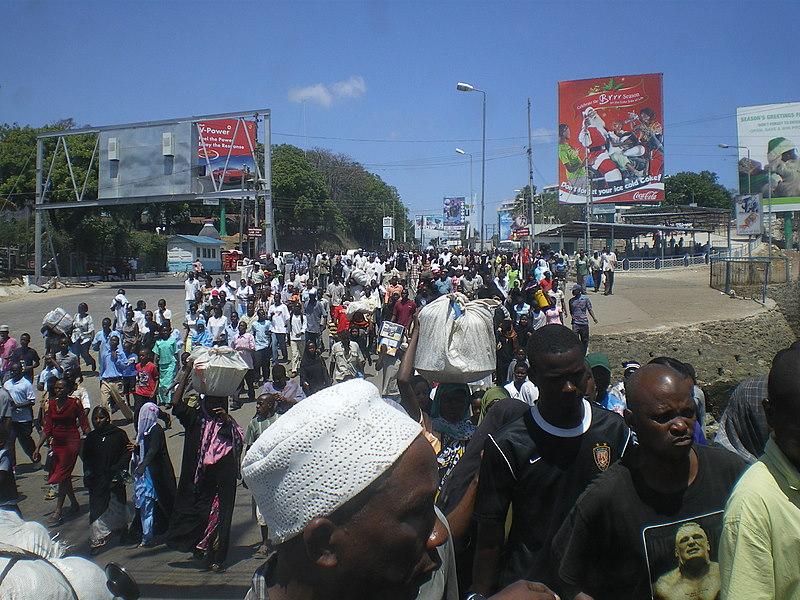 Fähre in Mombasa
