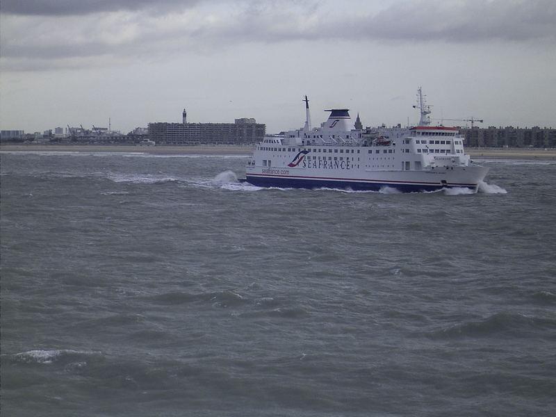 Fähre nach Dover