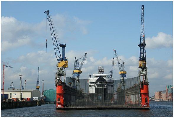 Fähre Schleswig-Holstein im Dock 10
