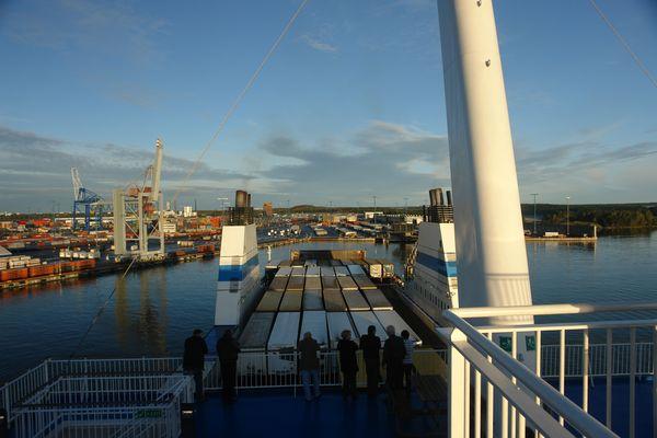 Fährhafen in Helsinki