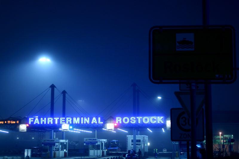 Fährhafen Rostock