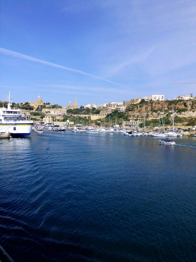 Fährhafen von Gozo