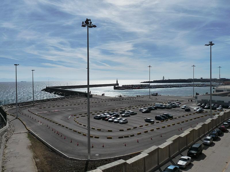 Fährhafen von Tarifa.