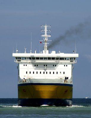 Fährschiff in Dieppe